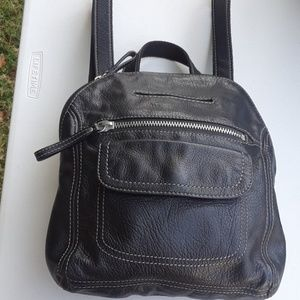 Fossil small to medium backpack.